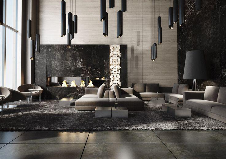 Clean modern elegant open plan lots of light soft for Design hotel 69