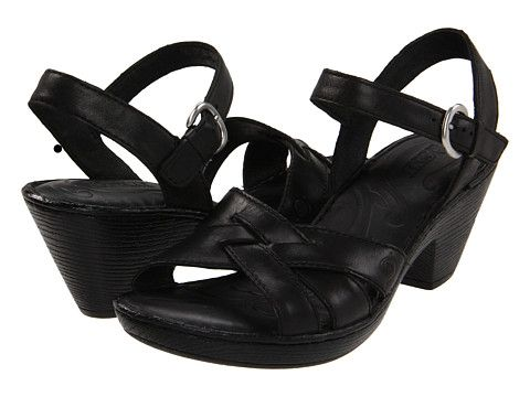 e88890ccde Born Belinda Sandal Black Full Grain - Zappos.com Free Shipping BOTH ...
