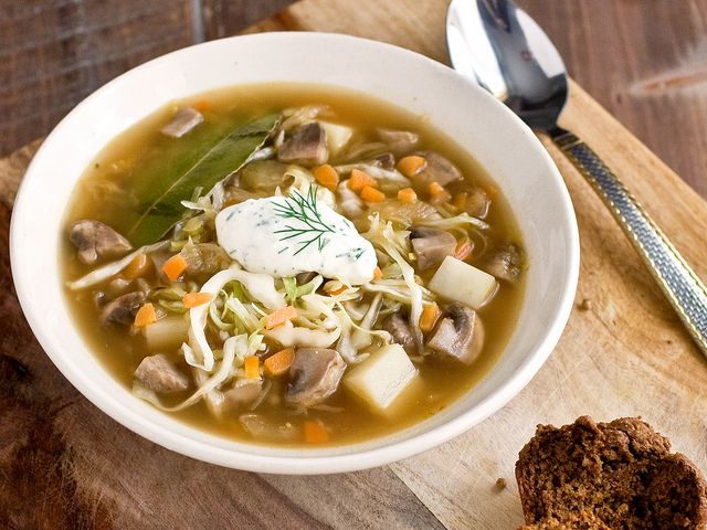 PPK does it again with this gorgeous Sauerkraut Mushroom Soup.