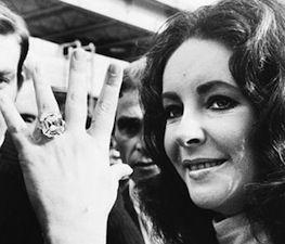 Elizabeth Taylor and the Krupp: Elizabeth Taylor, Diamonds, Krupp Diamond, Rings, Engagement Ring, Richard Burton, 33 19 Carat, Taylors