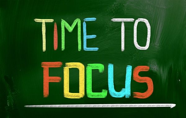 Time To Focus Concept