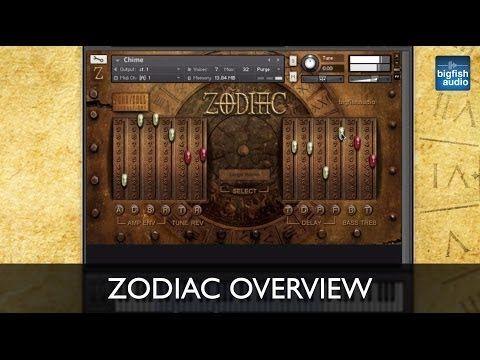 Zodiac - Instrument Overview - YouTube