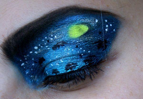 Dnešní Makeup: Blue Halloween http://getthelouk.com/?p=3369