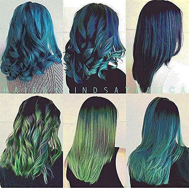 هل فكرت في تجربة ألوان الشعر الغريبة مثل البنفسجي الوردي الأزرق الأخضر الجمال انتي Beautyou Haircolor Fashion Harem Pants