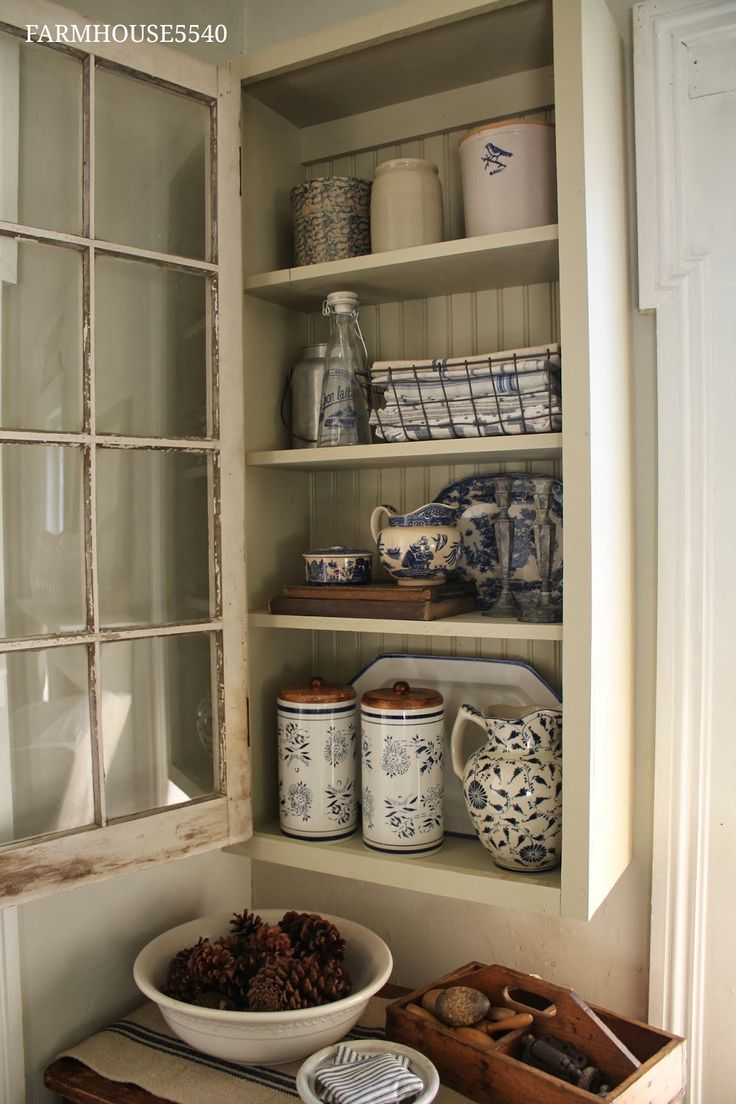 FARMHOUSE 5540: A New Cupboard With An Old Window