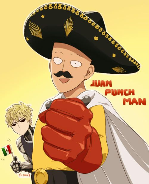 Juan punch man | One-Punch Man | Know Your Meme