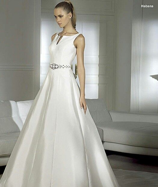 20 best Vestidos de novia images on Pinterest | Short wedding gowns ...