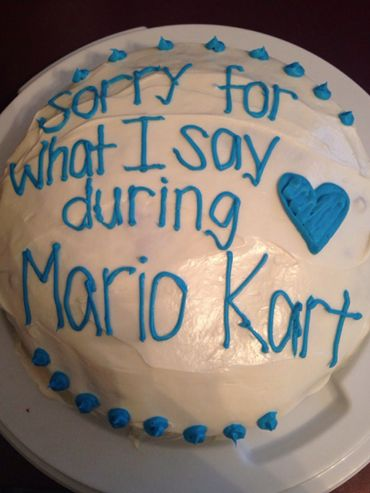 To everyone that I've played Mario kart with