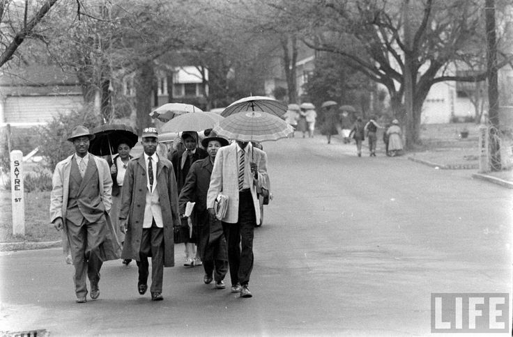 the montgomery bus boycott a revoltion Bus boycott in alabama on dec 1, 1955, in montgomery, alabama, rosa parks, an african-american, refused to give up her seat on the bus to a white passenger, as local law required.