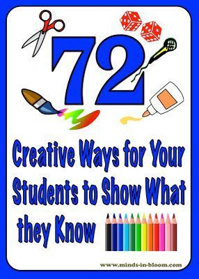 So many ideas on this post for fun ways to access what your students have learned. There is something for everyone and plenty of rigor as well as creative thinking!