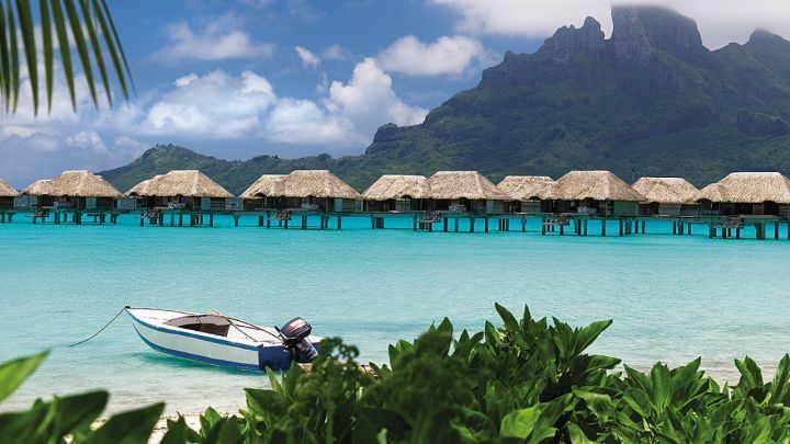 Bora Bora - pictures from the Four Seasons website