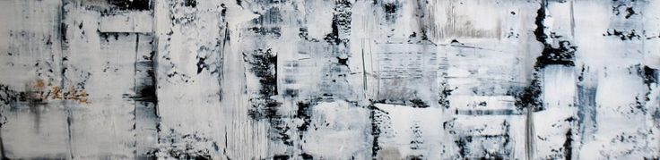 Radiante (Radiant) Acrylic on Panel 8×24
