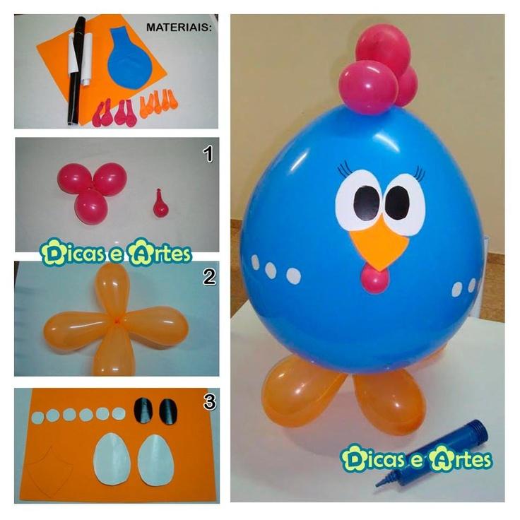 .balloon bird