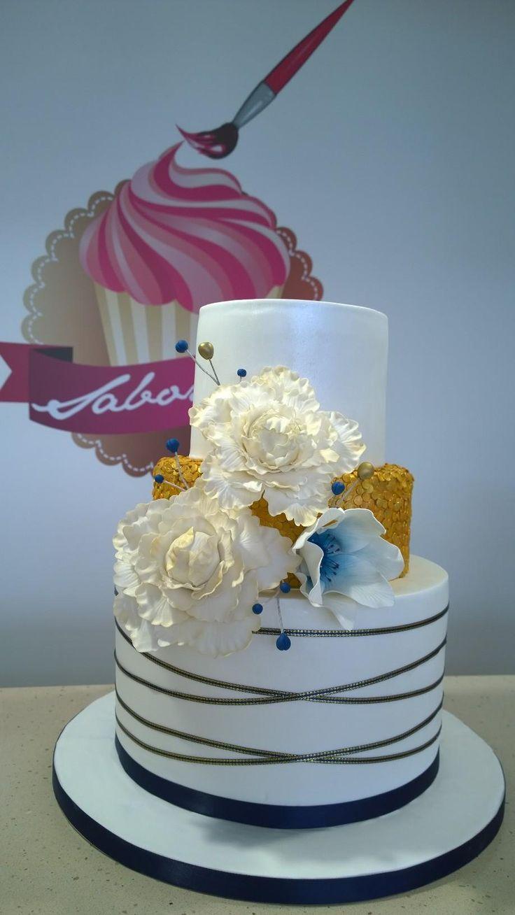 Bolo 50 anos de casados  50 marriage anniversary cake