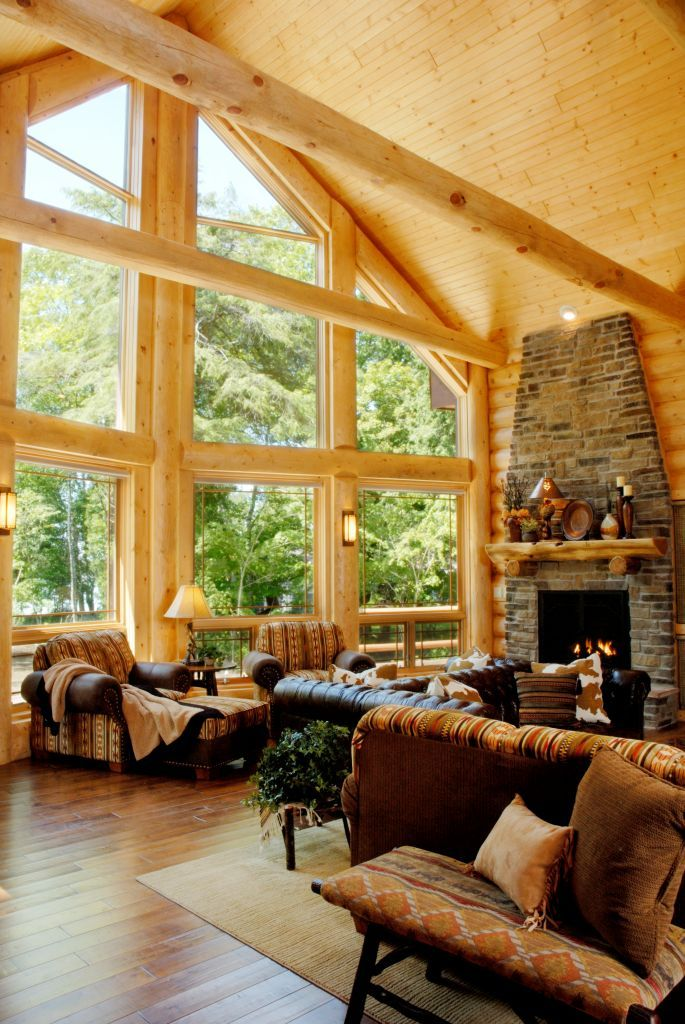 41 Best Great Rooms Images On Pinterest | Great Rooms, Log Homes