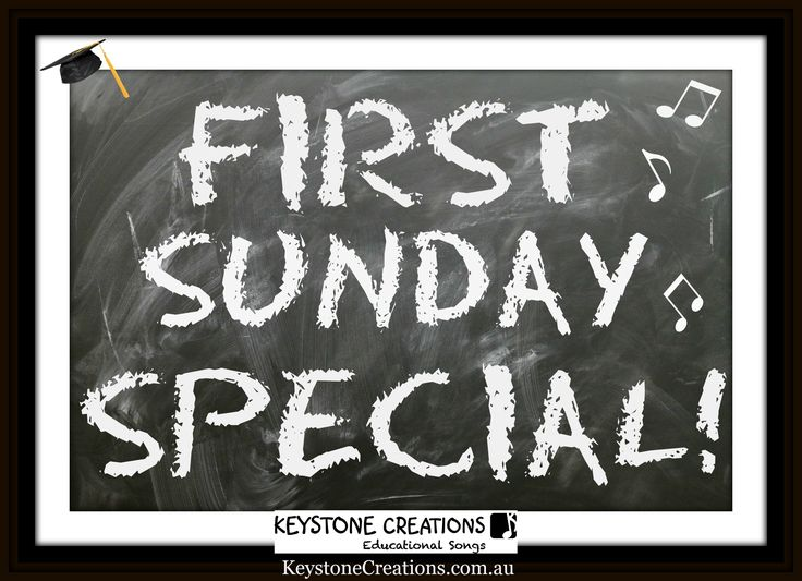 TEACHERS ~ SPECIAL OFFER! One original, teacher-created, curriculum-aligned song, DOWNLOADABLE, first Sunday of each month, for only $1.00 (for that one day only!) from our Designed By Teachers store! *DETAILS of next month's song, on our website: http://keystonecreations.com.au