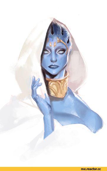 Samara,ME персонажи,Mass Effect,фэндомы