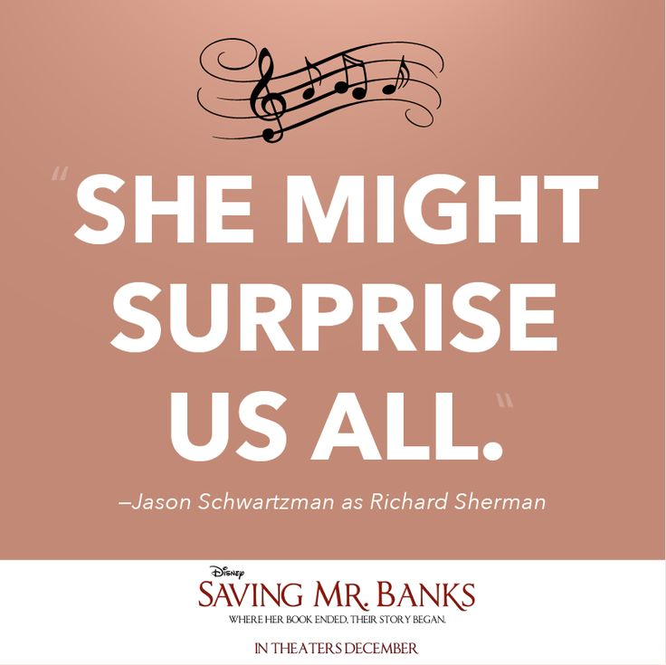 Saving Quotes: Saving Mr. Banks Quote