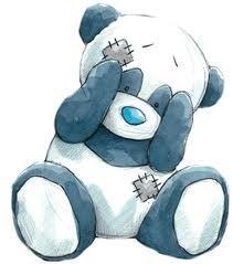 Binky #6... the shy Panda  who has a big heart... to love you.
