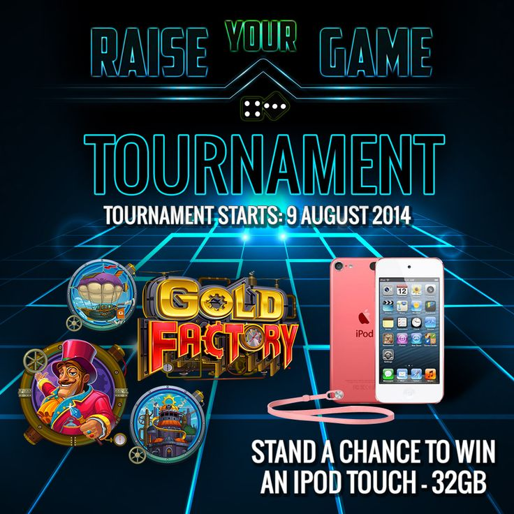 Got plans for the weekend? Why not enter the Raise Your Game tournament?