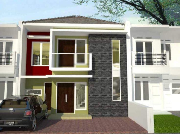 80 Desain Rumah Minimalis 2 Lantai 6x15 Terbaru   Desain ...