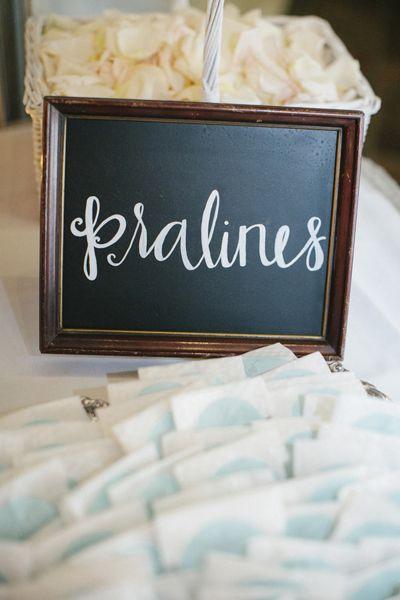praline favors! | Leslie Hollingsworth