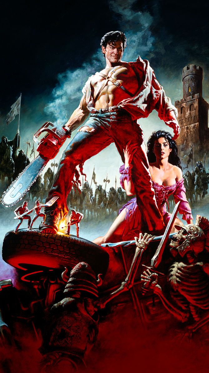 Army Of Darkness 1992 Phone Wallpaper Em 2020 Filmes E Terror