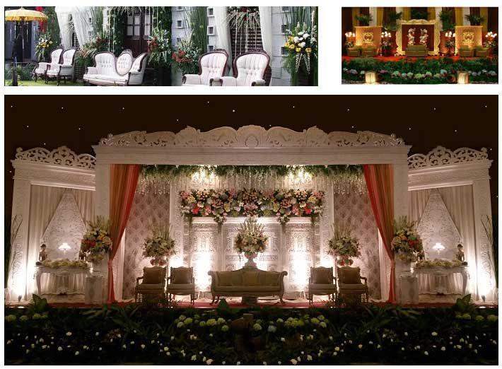 Soraya Wedding Organizer   Gallery Pelaminan. Pelaminan klasik, dan paduan pelaminan gebyok.