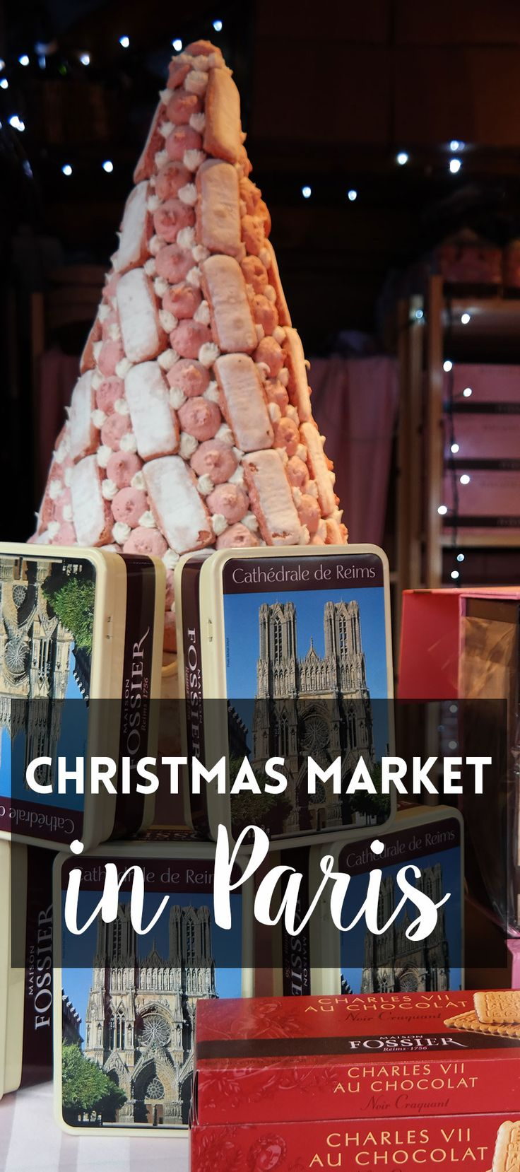 Take a wonderful food tour at the Christmas market at Champs-Élysées in Paris.