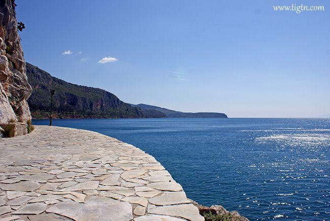 #Arvanitia promenade, #Nafplio. #Peloponnese - #Greece