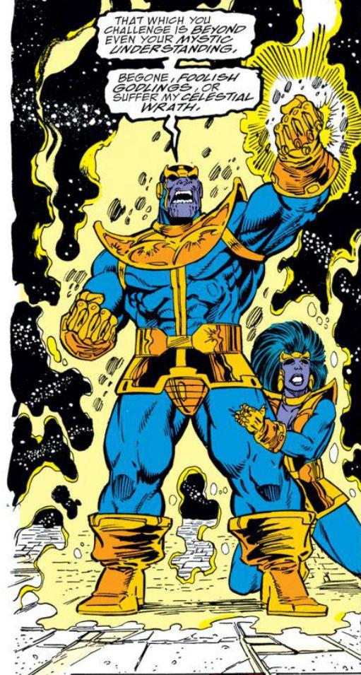 Ron Lim, Infinity Gauntlet #5. Thanos and Oprah Winfrey