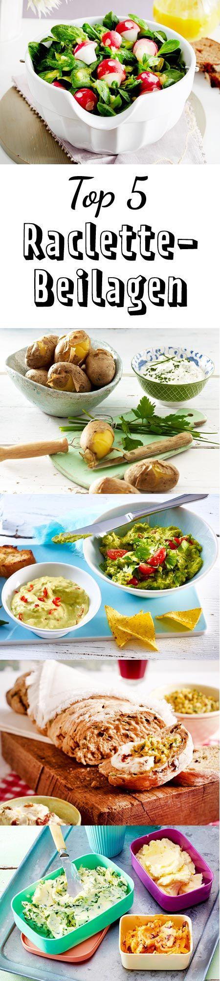 Salate, Dips und Co. #raclette #weihnachten #silvester