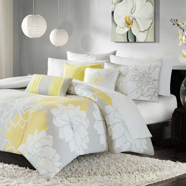 Lola 6 Piece Printed Duvet Cover Set by Madison Park