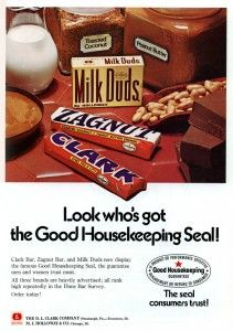 Beatrice - Milk Duds & Clark - candy trade ad - February 1972