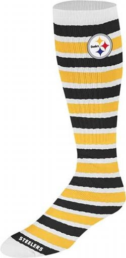 Asked the Hubs for these and he bought them immediately.  Lucky lady.  Retro Women's Steelers Tube Knit Socks
