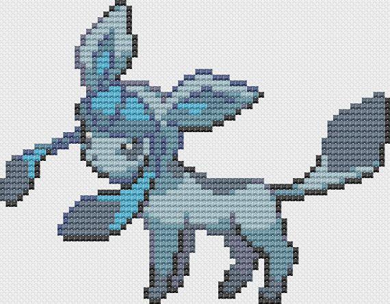Pokemon Glaceon Pattern