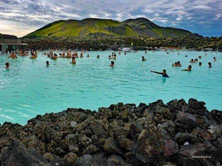iceland blue lagoon geothermal pool