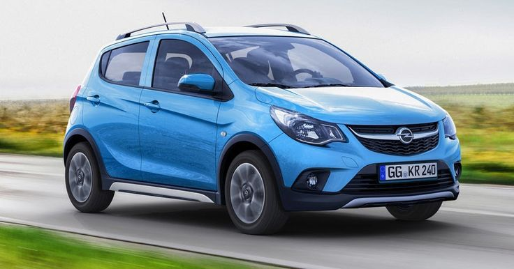 Opel Karl Toughens Up With New Rocks Mini Crossover Variant #New_Cars #Opel