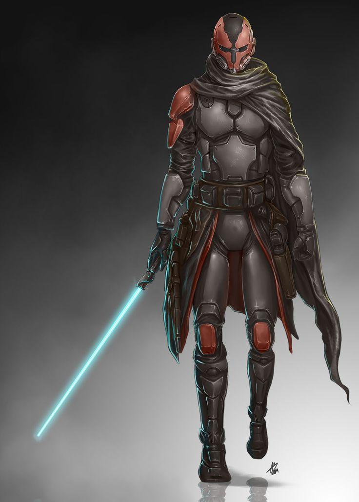 Commission:+Mandalorian+by+aiyeahhs.deviantart.com+on+@DeviantArt