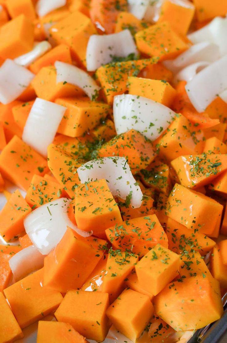 Roasted Butternut Squash Recipe. Simple Quick Delicious