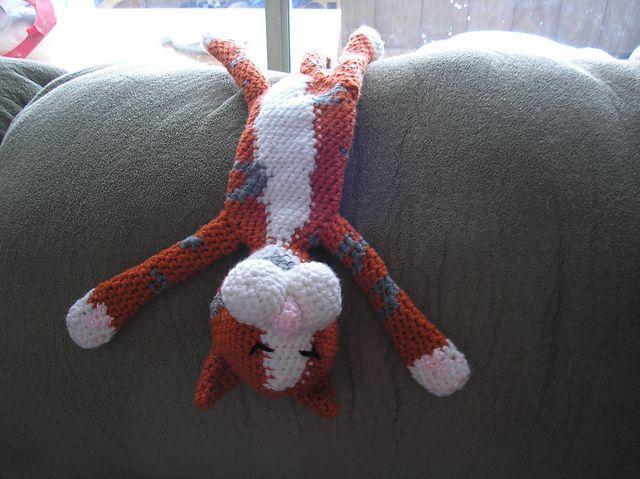 Laid Back Cat Amigurumi : Laid-Back Cat Amigurumi pattern by Pam Grennes Ravelry ...