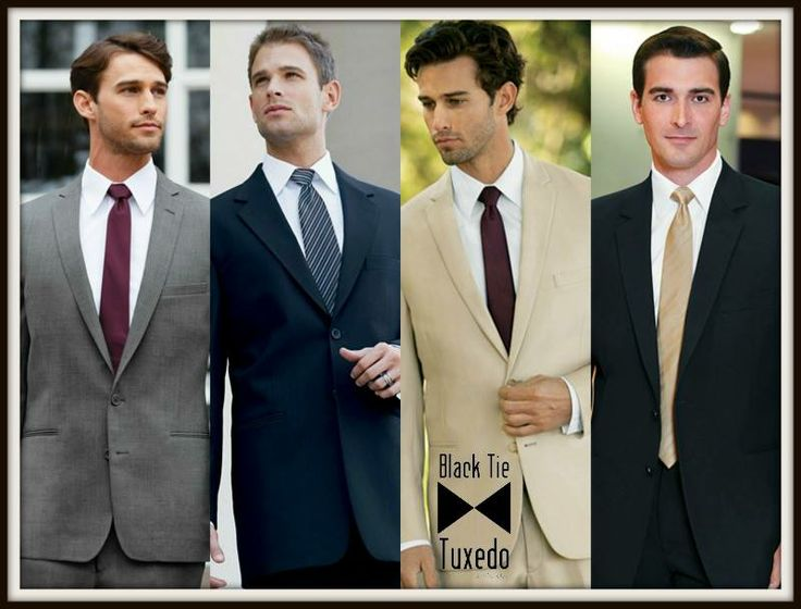 Not only does Black Tie Tuxedo by Michelle's rent tuxedos, we also have a large variety of suits!! Contact us @ http://www.michellesbridalshoppe.com
