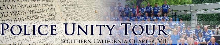 I'm riding the 2012 Police Unity Tour this year!