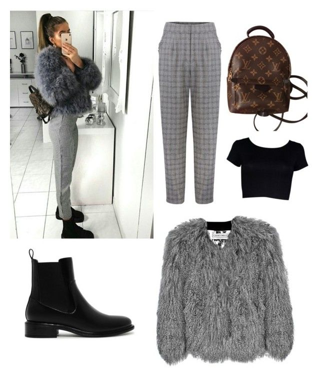 """""""🐾"""" by larisamarin on Polyvore featuring Florence Bridge, Louis Vuitton and CHARLES & KEITH"""