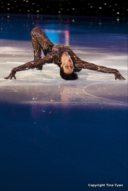 Johnny Weir, and nothing hurts.