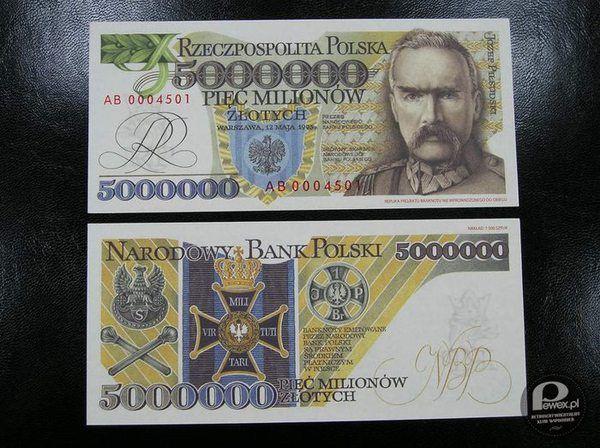 Ktokolwiek widział, ktokolwiek wie – Piękny banknot