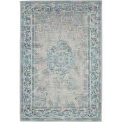 Vintage Pinkpop – Jade Pearl Brinker Carpets #vloerkledenloods #vintage #rugs #vloerkleed #vloerkleden #Oriëntal #industrieel #karpet #hip #groen #grijs #blauw