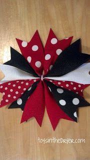 make bows for flip flops, hair bows, etc