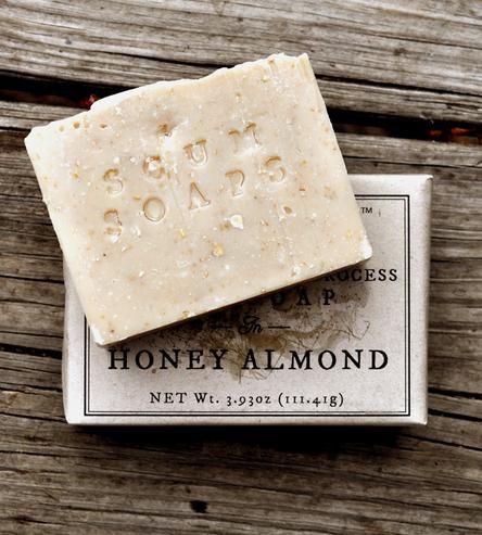 Honey & Almond Bar Soap $13