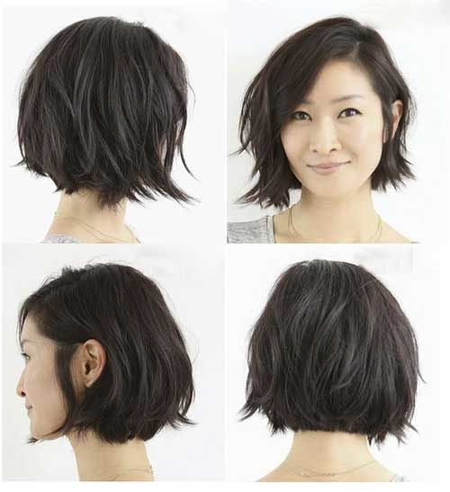 Peachy 1000 Ideas About Layered Bob Short On Pinterest Layered Bobs Hairstyle Inspiration Daily Dogsangcom
